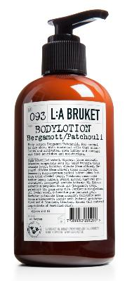 Organic Body Lotion 250 ml - N° 93 Bergamot Patchouli / L:A BRUKET